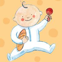 Láminas personalizadas para bebés