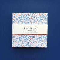 Álbum Leporello flores